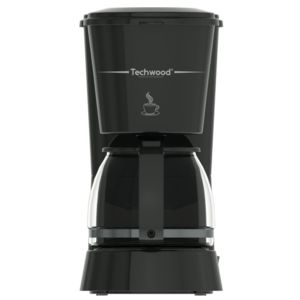 cafetiere 0 75l 650w noire techwood - ref. tca-684
