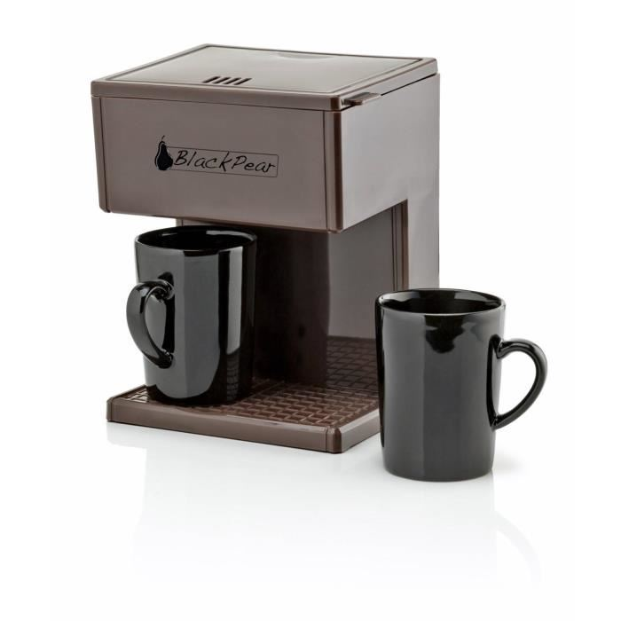 cafetiere 2 tasses black pear 700w