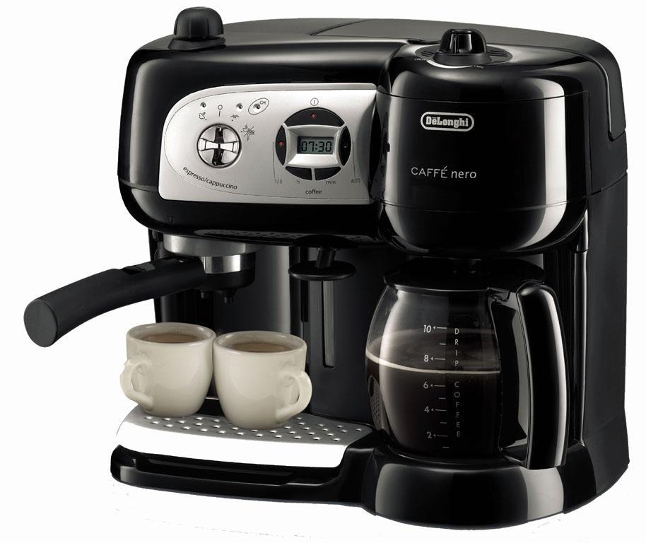 cafetiere 3-en-1 delonghi caffe nero