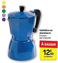 cafetiere 6 tasses carrefour