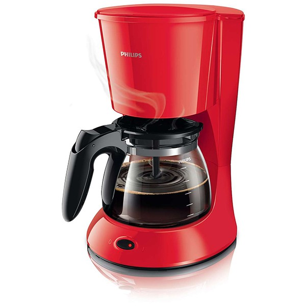 cafetiere 6 tasses rouge