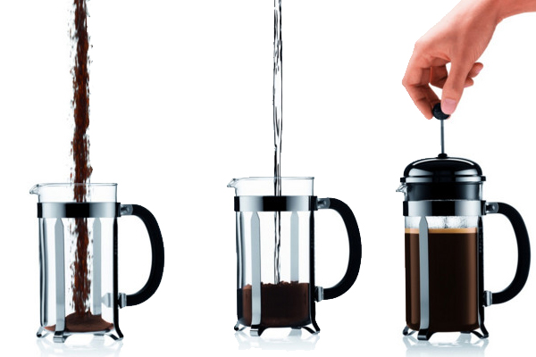 cafetiere a piston dosage