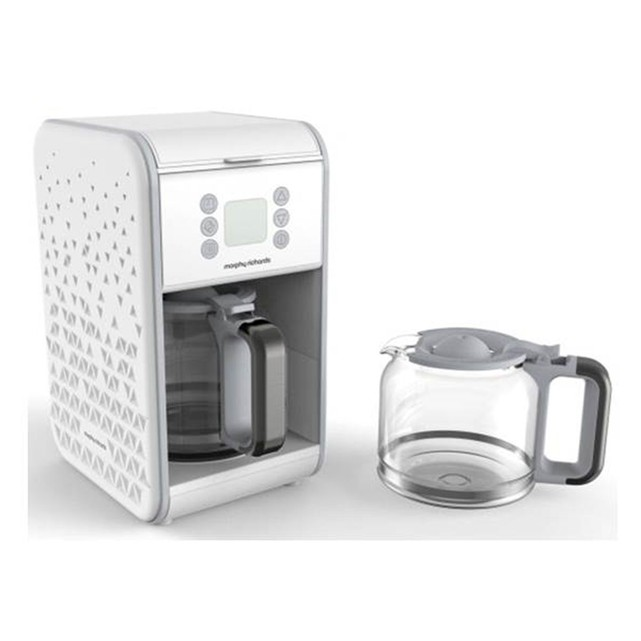 cafetiere blanche