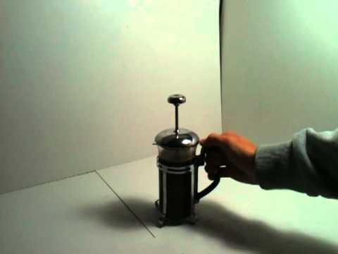 cafetiere bodum comment ca marche