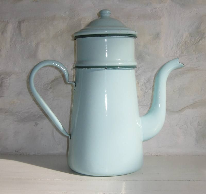cafetiere emaillee ancienne