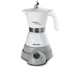 cafetiere italienne electrique moka aroma blanc 1358 ariete