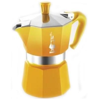 cafetiere italienne jaune