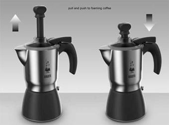 cafetiere italienne moka crem bialetti - 3 tasses