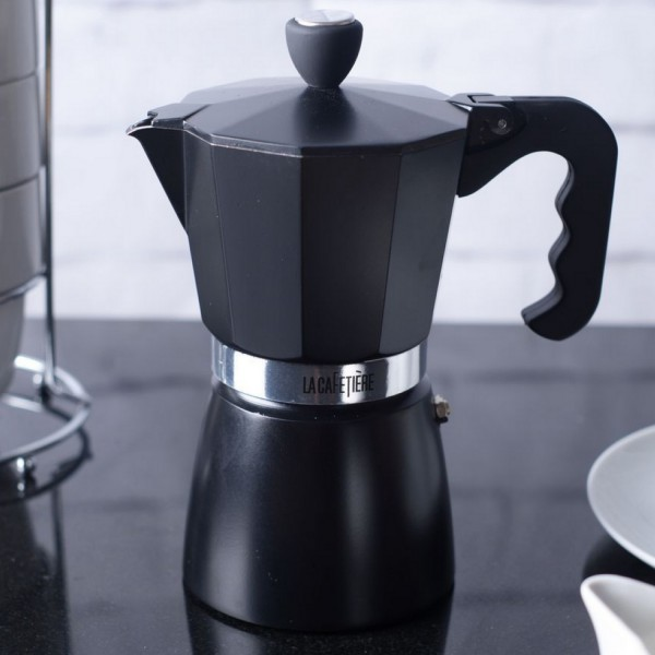 cafetiere italienne noire