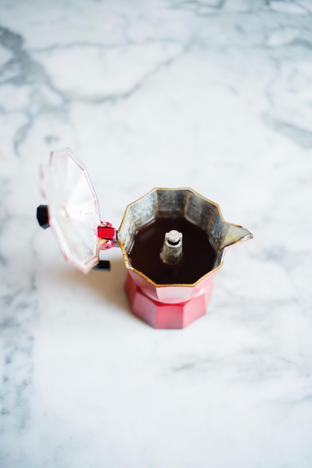 cafetiere italienne odeur