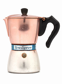 cafetiere italienne type de cafe