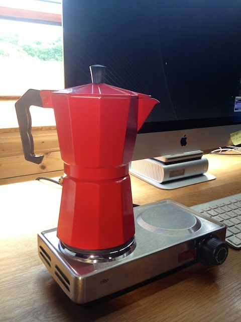cafetiere italienne usb