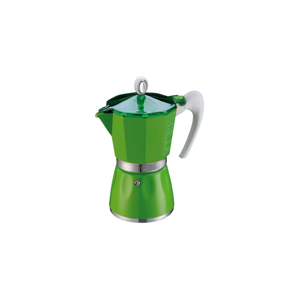 cafetiere italienne verte