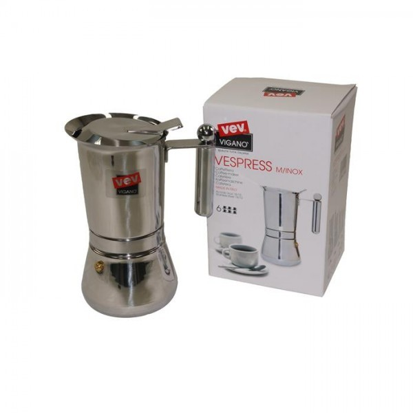 cafetiere italienne vev vigano inox