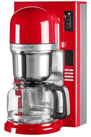 cafetiere kitchenaid 5kcm0802eer rouge empire