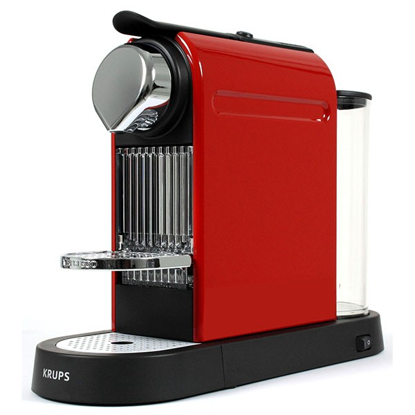 cafetiere krups rouge