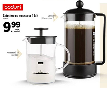 cafetiere lidl 2018