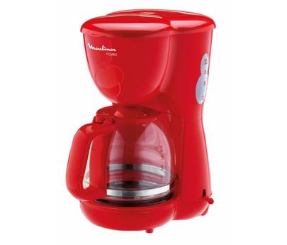 cafetiere moulinex rouge