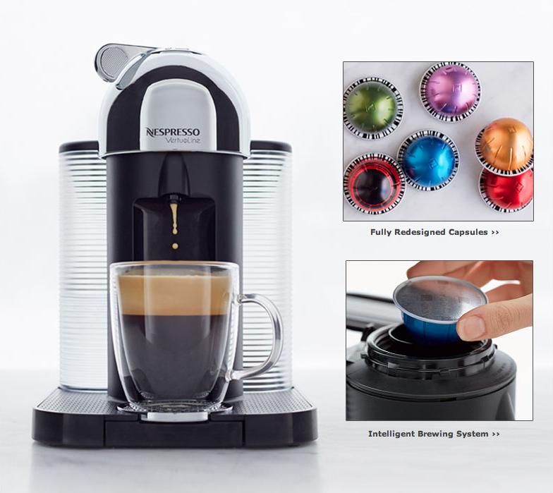 cafetiere nespresso 2014