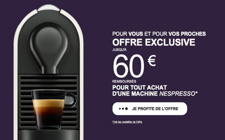 cafetiere nespresso bon de reduction