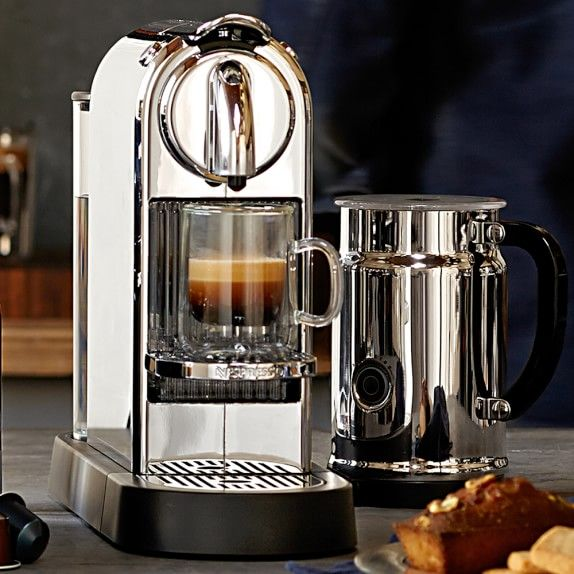 cafetiere nespresso citiz chrome
