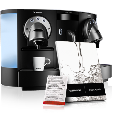 cafetiere nespresso detartrage