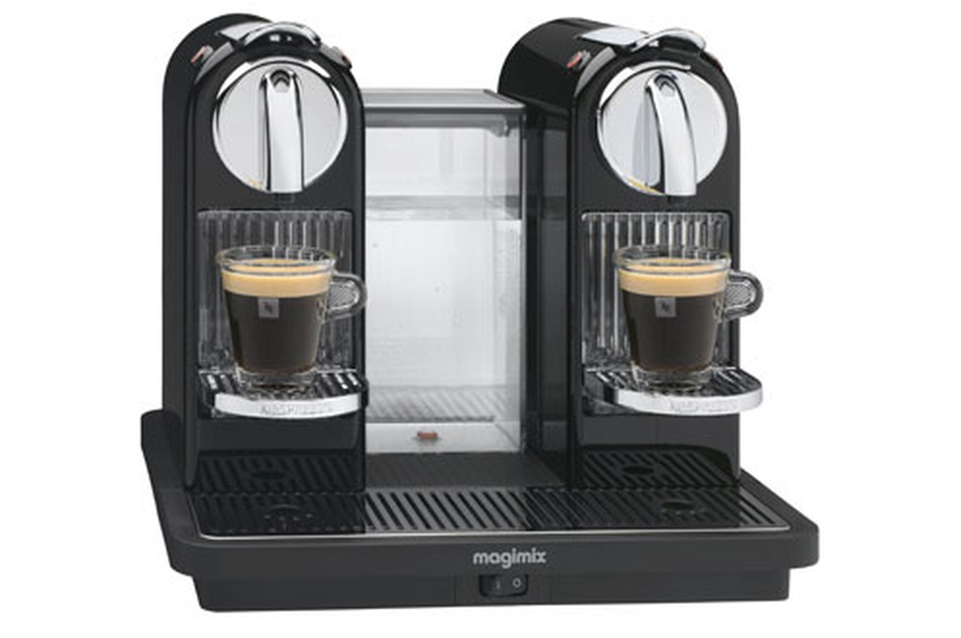 cafetiere nespresso double krups. Black Bedroom Furniture Sets. Home Design Ideas