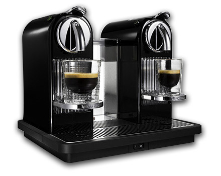 cafetiere nespresso double