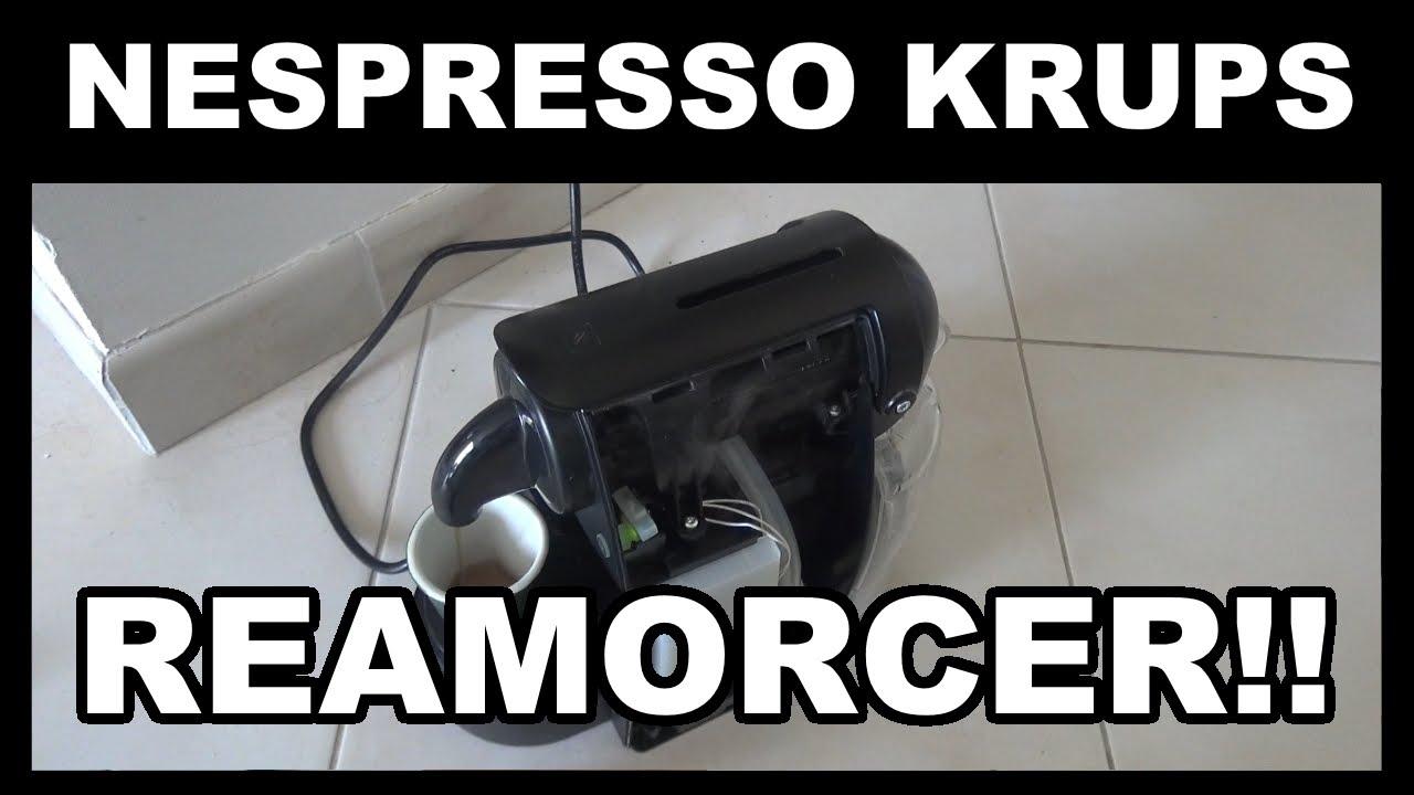 cafetiere nespresso eau ne coule plus