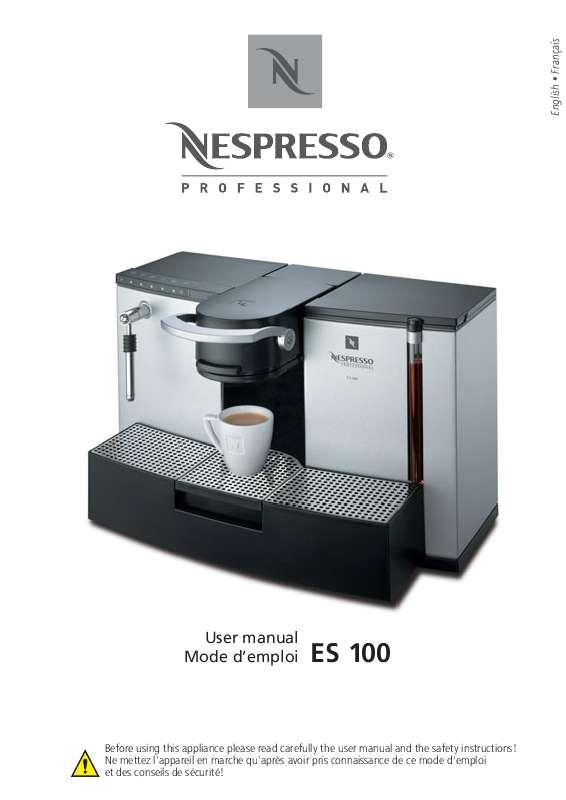 cafetiere nespresso es 100