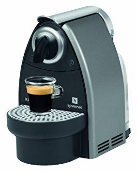 cafetiere nespresso essenza krups xn2125 gris titane