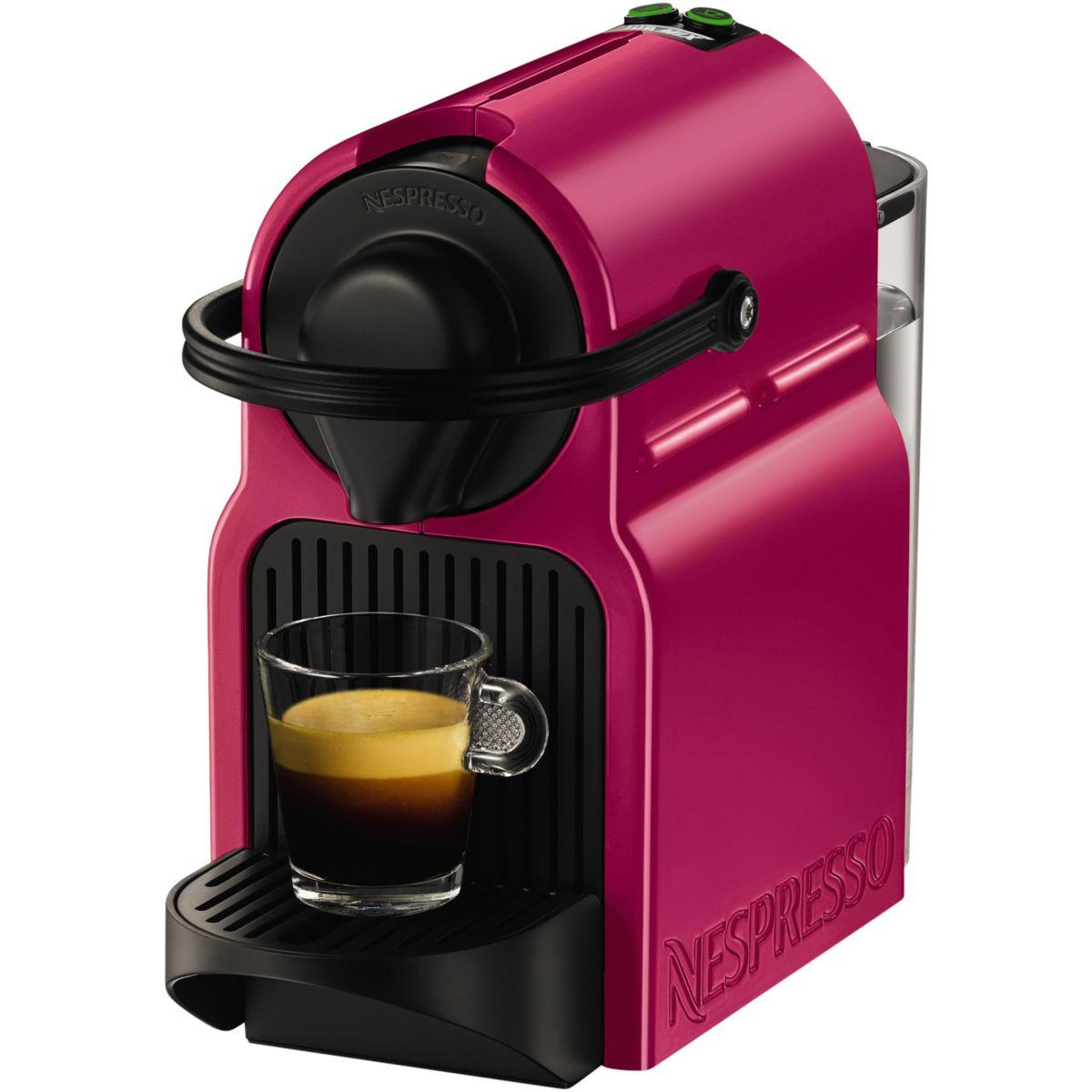 cafetiere nespresso fushia