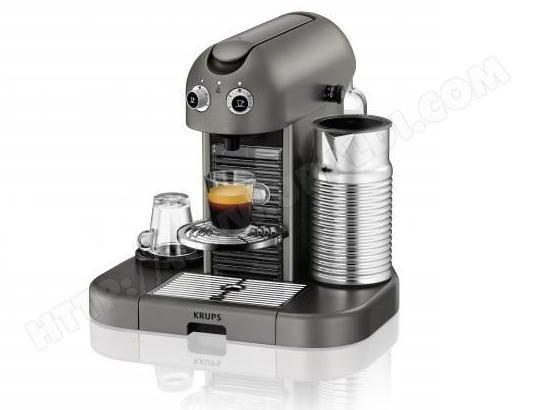 cafetiere nespresso gran maestria titane yy1801fd krups
