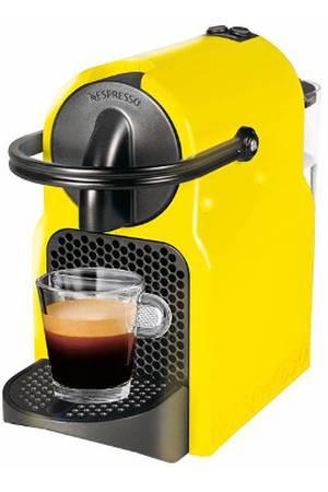 cafetiere nespresso jaune