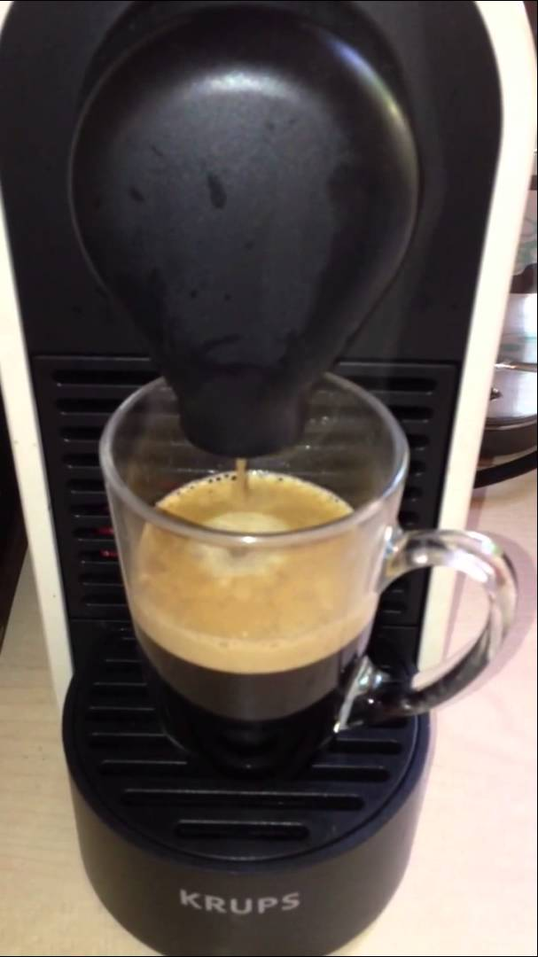 cafetiere nespresso krups probleme