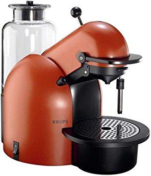 cafetiere nespresso krups xn4006 terracotta