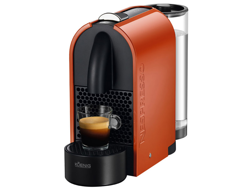 cafetiere nespresso orange