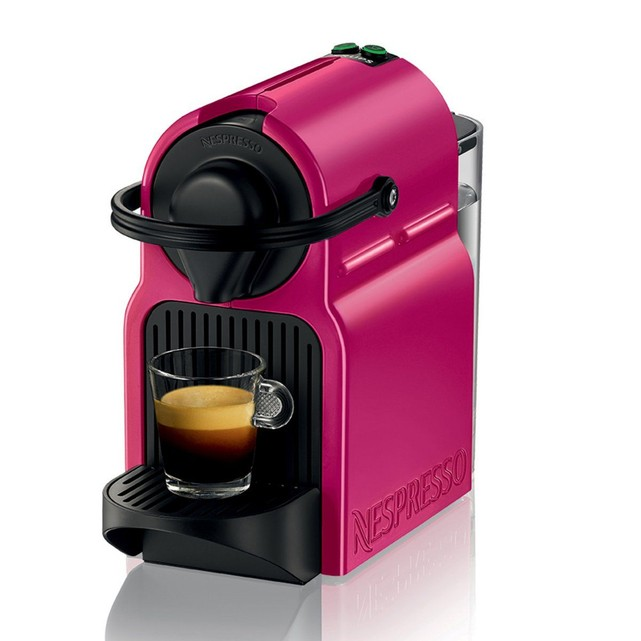 cafetiere nespresso rose fushia