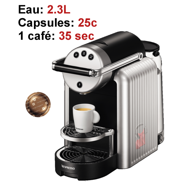 cafetiere nespresso the