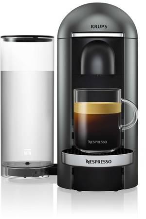 cafetiere nespresso titane