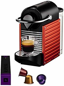 cafetiere nespresso u krups rouge