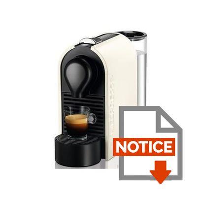 cafetiere nespresso u mode d'emploi