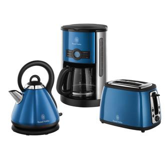 cafetiere russell hobbs bleu