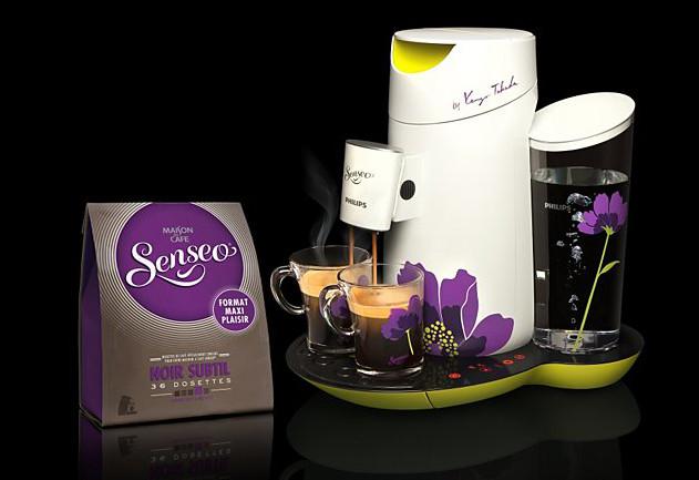 cafetiere senseo a fleur
