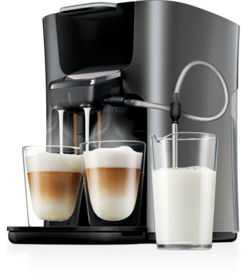 cafetiere senseo avec reservoir lait