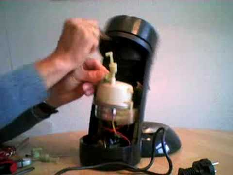 cafetiere senseo bloquee