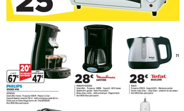 CAFETIERE SENSEO SWITCH GEANT CASINO