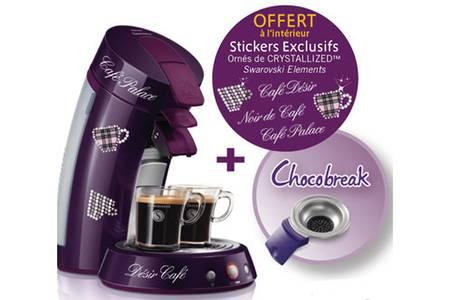 cafetiere senseo dosette chocolat