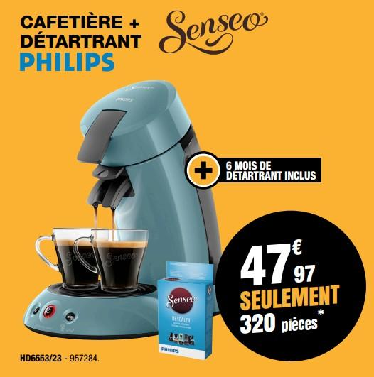 cafetiere senseo hd6553