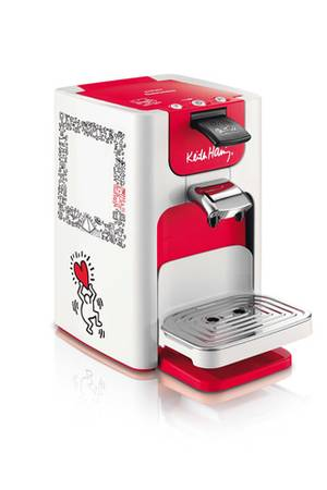 cafetiere senseo keith haring darty